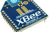 Configuration de XBees pour le API Mode