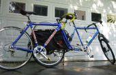 Transporter un vélo supplémentaire sur le Xtracycle - transporteur de Mont de fourche simple