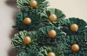 Carte de Noël de piquants