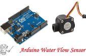Capteur de débit d'eau de l'Arduino