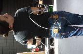 Mouvement contrôlé RGB Led costume à l'aide de Xbox 360 Kinect, Max MSP et Arduino partie 1