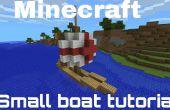 PE de Minecraft - petit tutoriel de bateau de pêche !