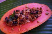 Malaysian papaye cuits avec gingembre