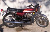 Comment faire revivre une vieille moto : économiser de l'argent sur le gaz/combustible ! Bon Ride !