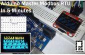 Modbus RTU maître avec Arduino en 5 minutes partie 1