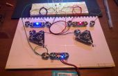 Multivibrateur astable (clignotant LED) avec Circuit Scribe
