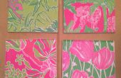 Lilly Pulitzer sous-verres