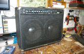 Faire une nouvelle grille du haut-parleur pour un ampli de guitare ou haut-parleur armoire