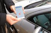 Commande de porte de voiture NFC