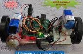 Voiture de jouet de contrôle en utilisant la technologie Ir
