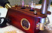 Travail des périscopes de vision nocturne. (Steampunked)