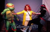 Teenage Mutant Ninja Turtles - tiercé gagnant : Michelangelo TMNT, fantassin et April O'Neil