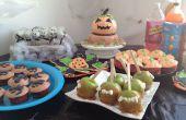 Table de fête et idée de décoration de maison : fête de l'Halloween