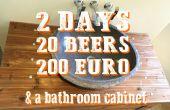 2 jours, 20 bières, 200 euro & une salle de bain armoire - une manquer histoire