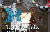 Deck the Halls avec du papier ! Flocons de neige 3D, chaînes de papier, calendrier de l'Avent et plus encore !