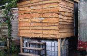 Le vide « facile » toilettes projet de compostage : Partie 2 - Superstructure