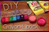 Comment faire le rouge à lèvres, de crayons de couleur
