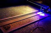3W 4 « x 4 » Arduino Laser Cutter/graveur
