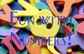 Amusez-vous avec les chiffres !