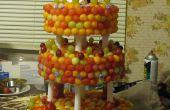 Fresh Fruit trois Tier Wedding Cake