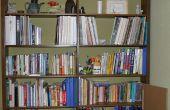 Organisation des livres, des Photos et trucs de couture