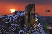 Maison montagne Minecraft