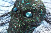 Halloween décoration crânes