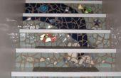 Mosaïque des escaliers