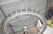 Zip tie bricolage vélo pneus à neige