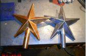 Les étoile coulée en aluminium