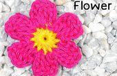 Comment crocheter une fleur à Six pétales