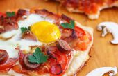 Petit déjeuner maison Pizza