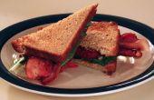 Simple Sandwich BLT