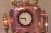 Steampunked temps voyager machine