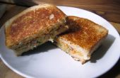 """Sandwich"" de pois chiche"