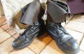 Transformer les vieilles bottes militaires en bottes de pirate !