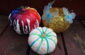 BRICOLAGE pas-sculpter des citrouilles Halloween