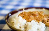 Facile cinq ingrédients poulet au Curry
