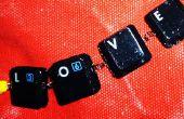 Clavier Bracelet avec touches interchangeables