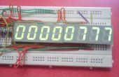 5 & 8 chiffres Arduino Counter