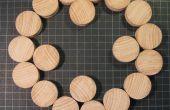 Déplacement des dessous de plat bois de forme