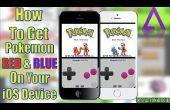 Pokemon sur iPhone/iPod