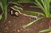 Une guitare pour le jardin (planteur)