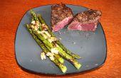 Comment faire un steak avec un chalumeau Propane