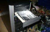 Lecteur de DVD rangement caché