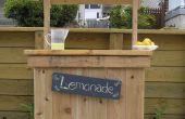 Construire le stand de limonade parfait avec vos enfants