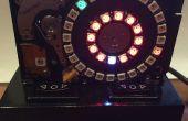 Disque dur NeoPixel 3D imprimés horloge