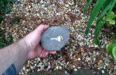 Porte-clés personnalisé faux rocher
