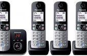 Téléphones sans fil utilisés la fonction Intercom maison