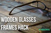Verres en bois cadres Hack